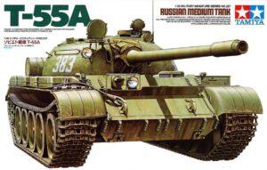 35257 Tamiya Советский средний танк Т-55А, 1958г.