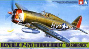61086 Tamiya 1:48 P-47D Thunderbolt Razorback
