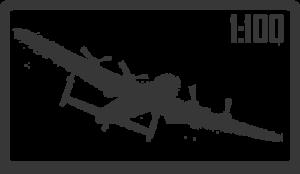 Авиация 1:100
