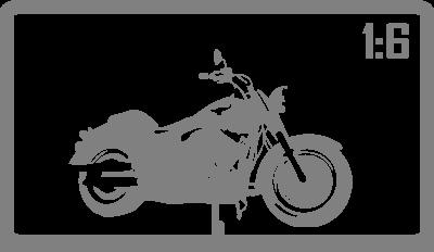 Мотоциклы 1:6