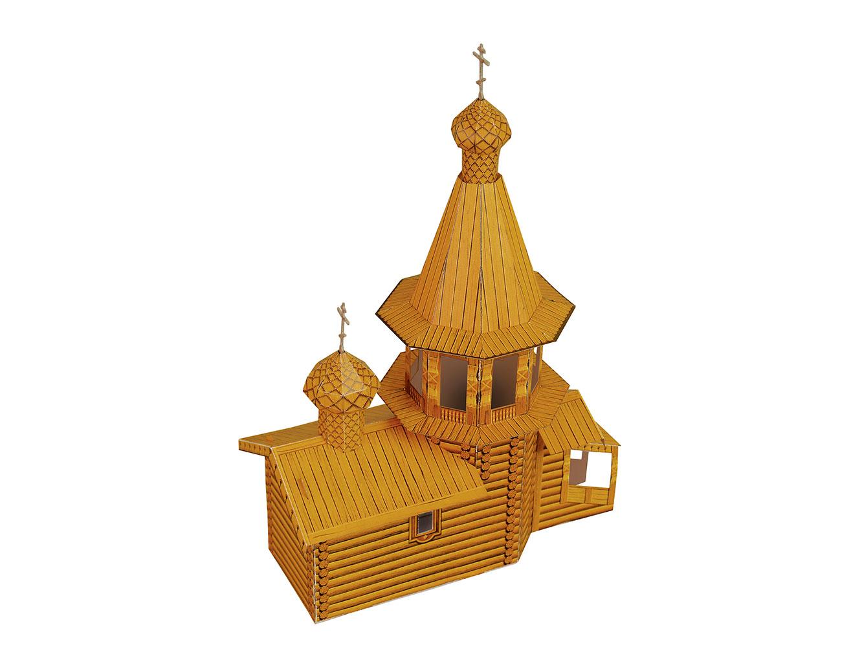 Как сделать из бумаги макет церкви своими руками из бумаги