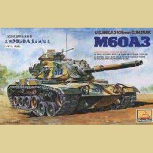 Американский танк M60A3 minihobbymodels 80108 1/35