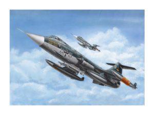 207201истребитель F-104 G Starfighter Моделист 1/72