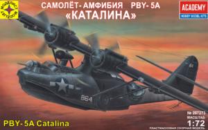 207273207273 Самолет-амфибия PBY-5A Catalina Моделист 1/72