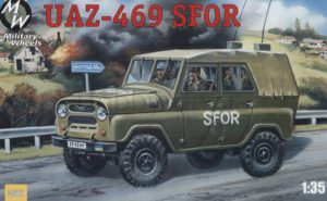 3507  УАЗ-469 SFOR 135 Military Wheels