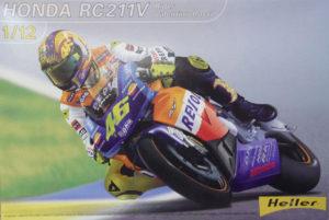 Honda RC 211V 80910 heller 1/12