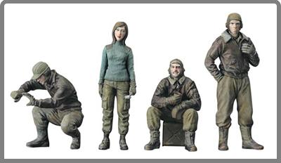 Военные миниатюры другие масштабы