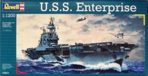 1/1200 Американский авианосец Enterprise Revell 05800
