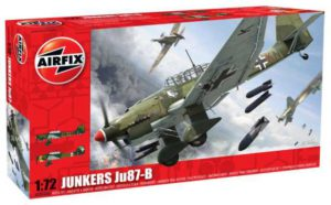 Junkers Ju-87-B 1/72 Airfix a03030a