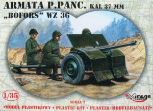 Mirage-Hobby 35212 Bofors 37mm Anti-Tank Gun