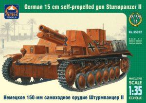 "35012 ARK НЕМЕЦКОЕ САМОХОДНОЕ ОРУДИЕ ""ШТУРМПАНЦЕР II"" (150ММ) МАСШТАБ 1/35"