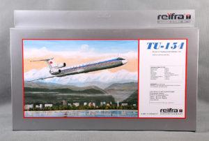 Самолет пассажирский ТУ-154 TU-154 REIFRA 0015
