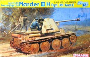 Sd.Kfz. 138 Panzerjager 38 Marder III H Fgst. 38t Ausf. H