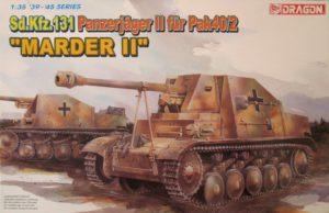 Sd.Kfz.131 Panzerjäger II für Pak40_2 Marder II