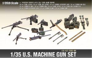 13262 Academy U.S. WWII Machine Gun Set