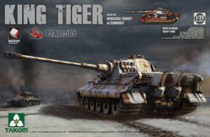 2047 Takom 1/35 King Tiger Pz.Abt.505 Sd.Kfz.182 Henschel Turret