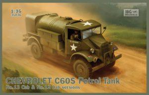 35036 IBG 1/35 Chevrolet C60S Tank Petrol