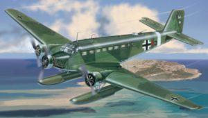 1339 Italeri 1/72 Самолет Ju 52/3 m ''See''