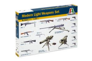 6421 ITALERI Аксессуары современное оружие