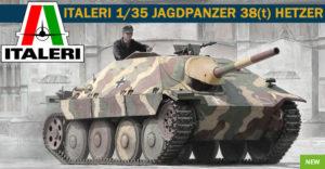 6531 Italeri 1/35 JAGDPANZER 38(t) HETZER