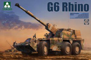 Takom 2052 G6 Rhino SANDF Self-Propelled Howitzer 1:35