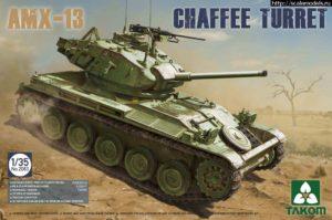 2063 Takom 1/35 French Light Tank AMX-13 Chaffe Turret in Algerian War (1954-1962)