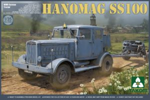 2068 TAKOM WWII German Tractor Hanomag SS100