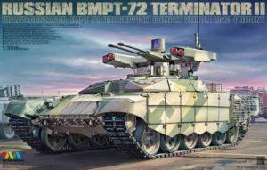 RUSSIAN BMPT-72 TERMINATOR II URALVAGONZAVOD BMPT-72 (TIGER MODEL) 1/35