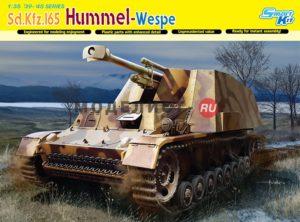 6535 Dragon Германская САУ Sd.Kfz.165 Hummel-Wespe