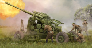 02349 Trumpeter 1/35 Soviet 100mm Air Defense Gun KS-19M2