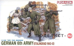 6017 Dragon 1/35 German 6th Army (stalingrad 1942-43)