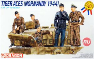 "6028 Dragon 1/35 Экипаж танка ""Тигр"" (Нормандия, 1944 год)"