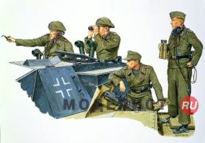 6029 Dragon 1/35 Германский экипаж штурмового орудия (1940–45)