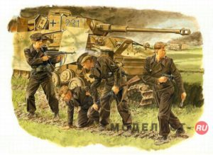 6129 Dragon 1/35 Survivors, Panzer Crew (Kursk 1943)