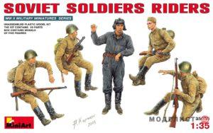 35055 MiniArt 1/35 Едущие советские солдаты