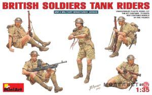 35071 MiniArt 1/35 Британский танковый десант