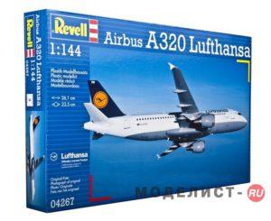 04267 Revell Аэробус А-320 «Lufthansa» 1:144