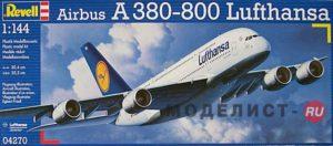 "04270 Revell Самолет Airbus A380 ""Lufthansa"""