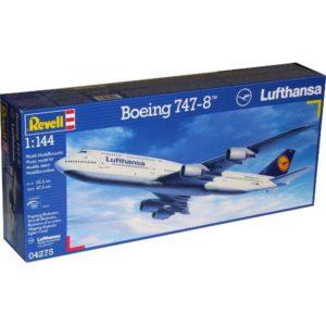 04275 Revell Самолет Пассажирский Боинг 747-8