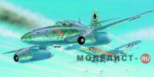 0834 Smer 1/72 Самолет Messerschmitt Me 262 B-1a/U1.