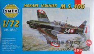 0849 Smer 1/72 Morane Saulnier MS 406