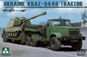 Ukraine KrAZ-6446 Tractor w/ChMZAP-5247G Semi-Trailer