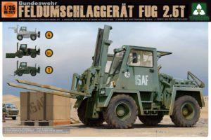 2021 Takom Bundeswehr Feldumschlaggerät FUG 2,5T