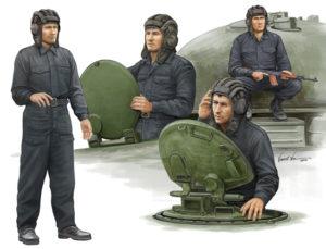 00435 Trumpeter 1/35 Советский танковый экипаж