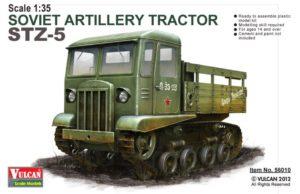 Vulcan Scale Models 56010 Soviet Artillery Tractor STZ-5