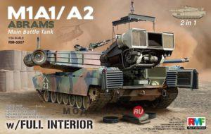 RM-5007 RMF Американский танк Абрамс M1A1/M1A2 w/ Full Interior