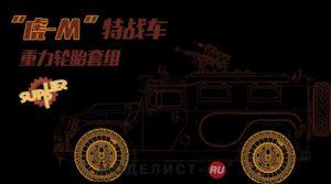 "SPS-035 Meng Колёса для RUSSIAN GAZ 233115 ""TIGER-M"" SPN SPV SAGGED WHEEL SET (RESIN)"