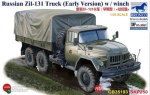 CB35193 Bronco  Russian Zil-131 Truck (Early Version) w / winch