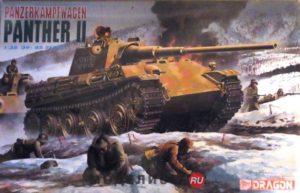 6027 Dragon Танк Panzerkampfwagen Panther II