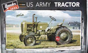 Thunder model TM35001 Трактор US Army tractor Case VAI